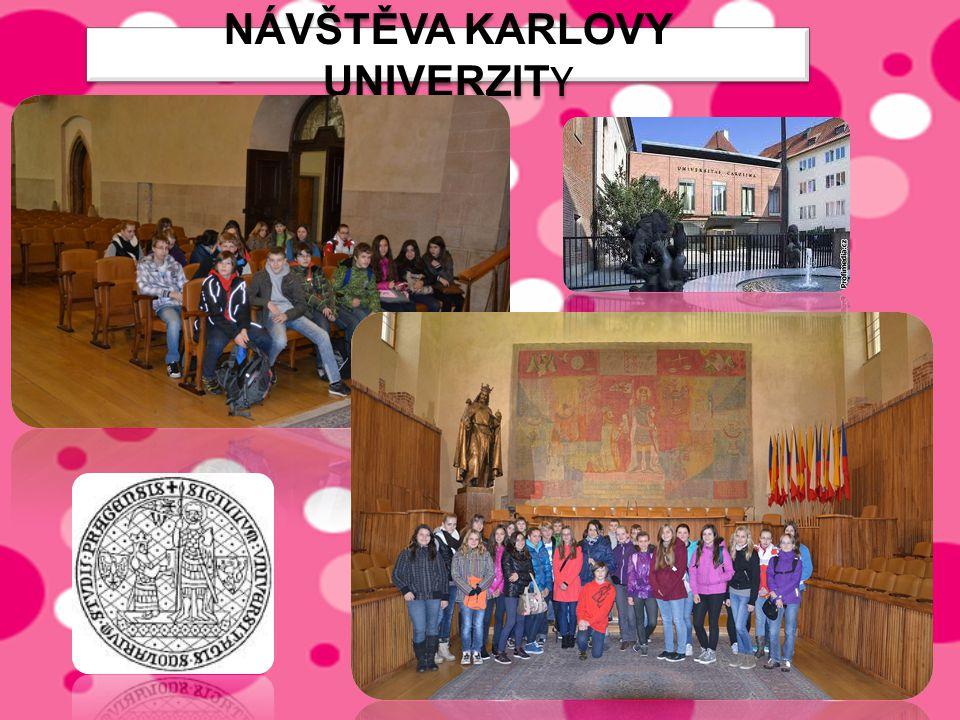Návštěva karlovy univerzity