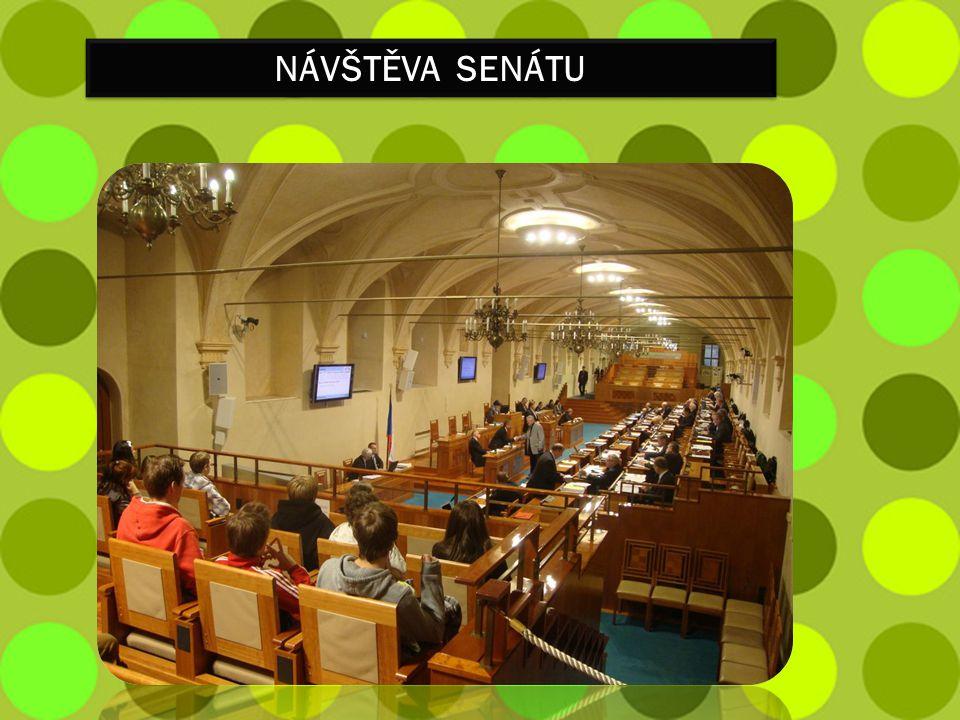 Návštěva senátu