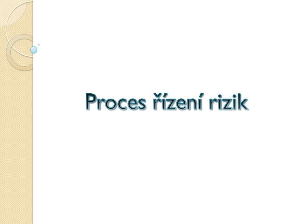 Proces řízení rizik