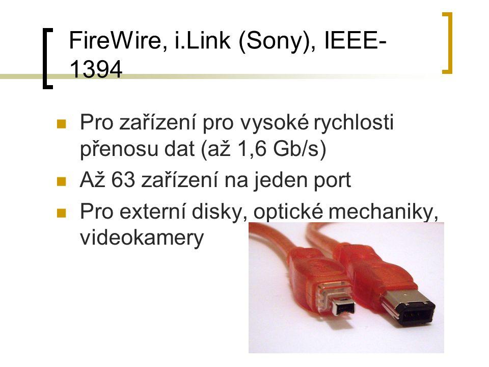 FireWire, i.Link (Sony), IEEE-1394