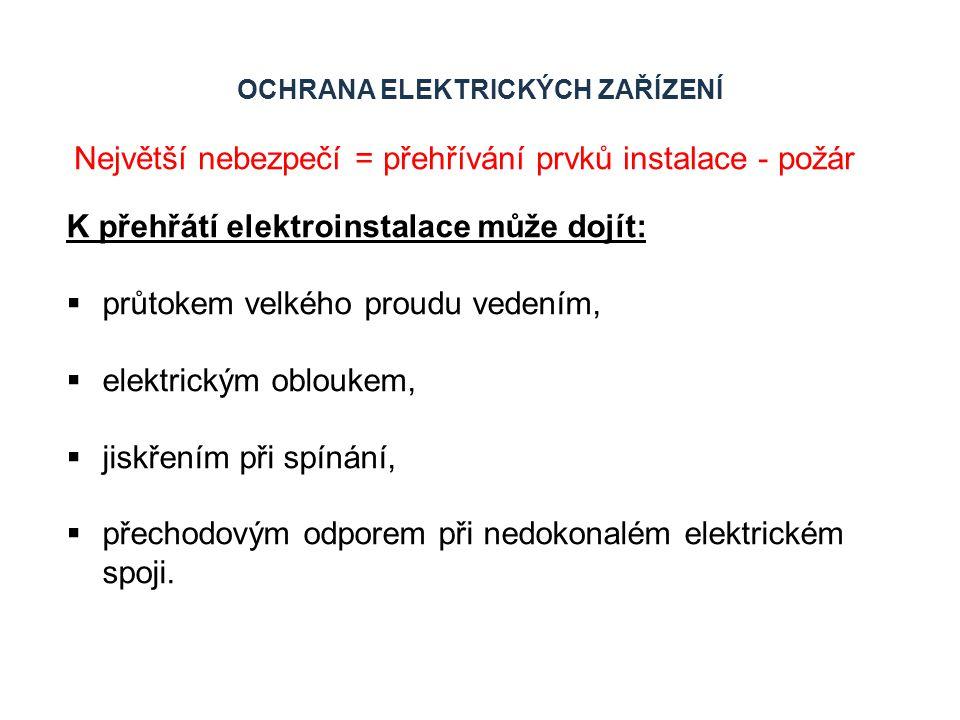 Ochrana elektrických zařízení