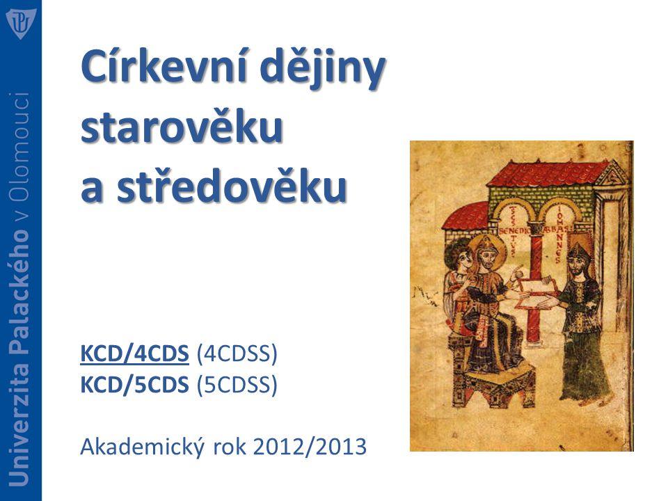 Církevní dějiny starověku a středověku