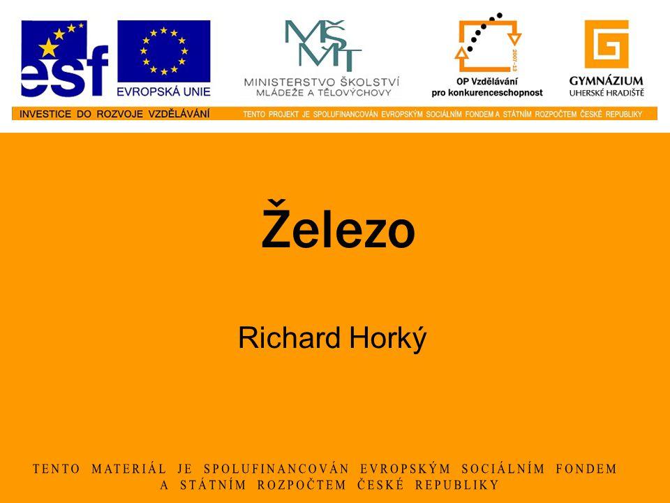 Železo Richard Horký