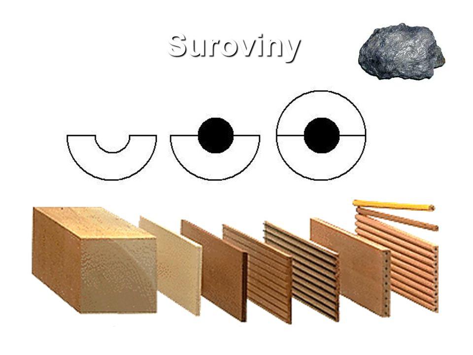 Suroviny: Grafit Dřevo: cedr, vejmutovka, lípa Výrobní postup: