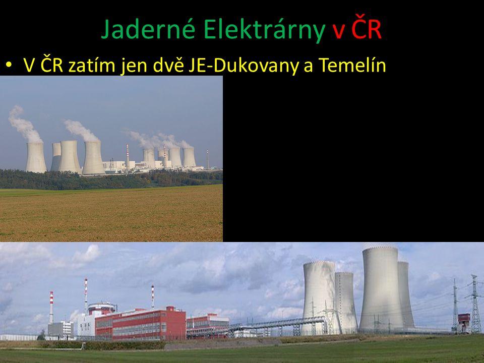 Jaderné Elektrárny v ČR