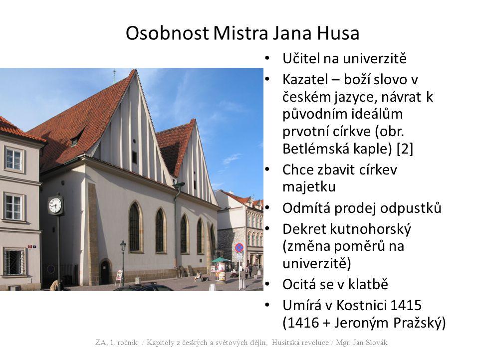 Osobnost Mistra Jana Husa