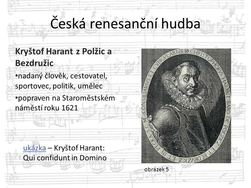 Česká renesanční hudba