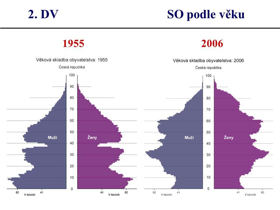2. DV SO podle věku 1955 2006.