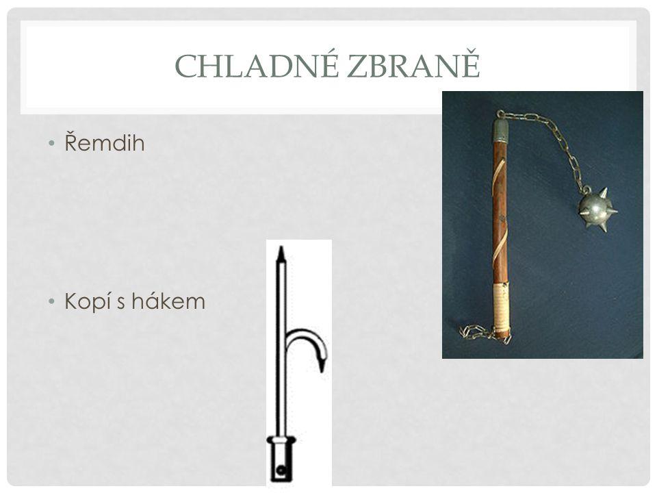 Chladné zbraně Řemdih Kopí s hákem