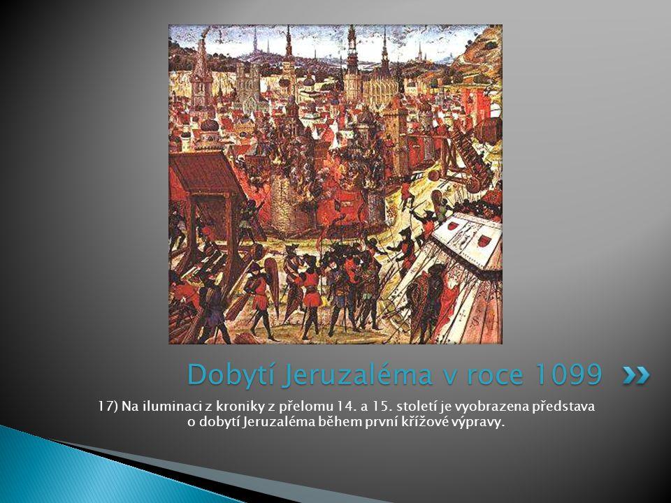 Dobytí Jeruzaléma v roce 1099