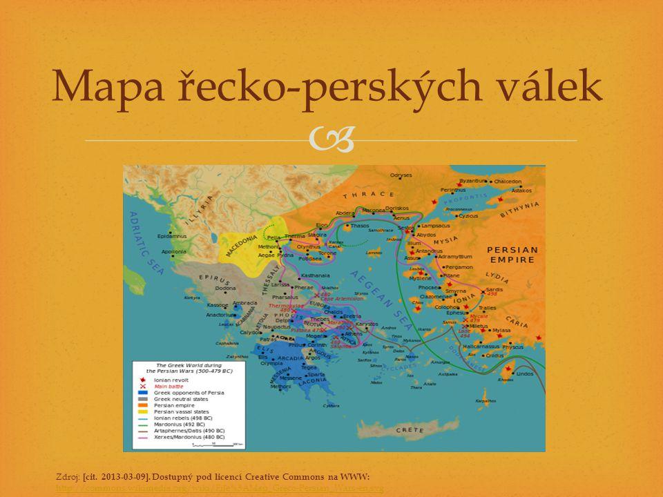 Mapa řecko-perských válek