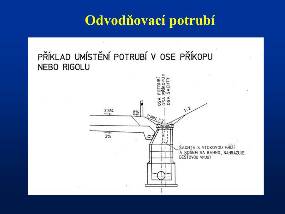 Odvodňovací potrubí -