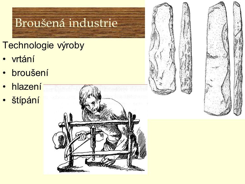 Broušená industrie Technologie výroby vrtání broušení hlazení štípání