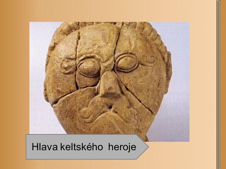 Hlava keltského heroje