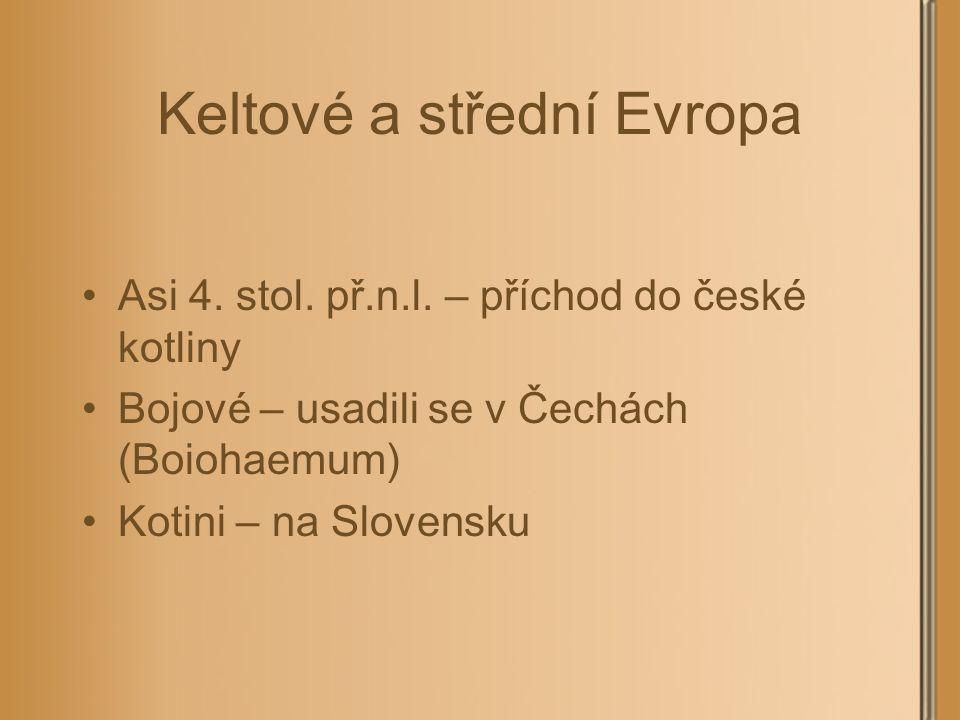 Keltové a střední Evropa