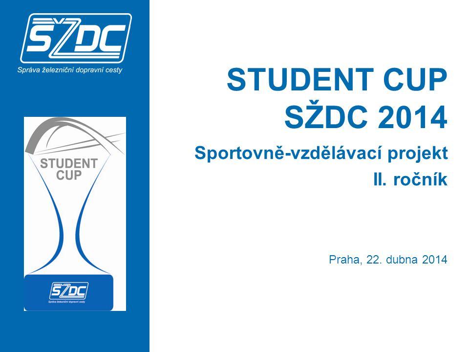 STUDENT CUP SŽDC 2014 Sportovně-vzdělávací projekt II. ročník