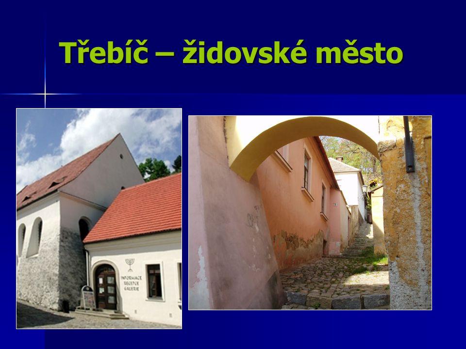 Třebíč – židovské město