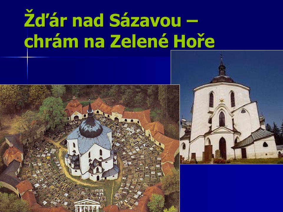 Žďár nad Sázavou – chrám na Zelené Hoře