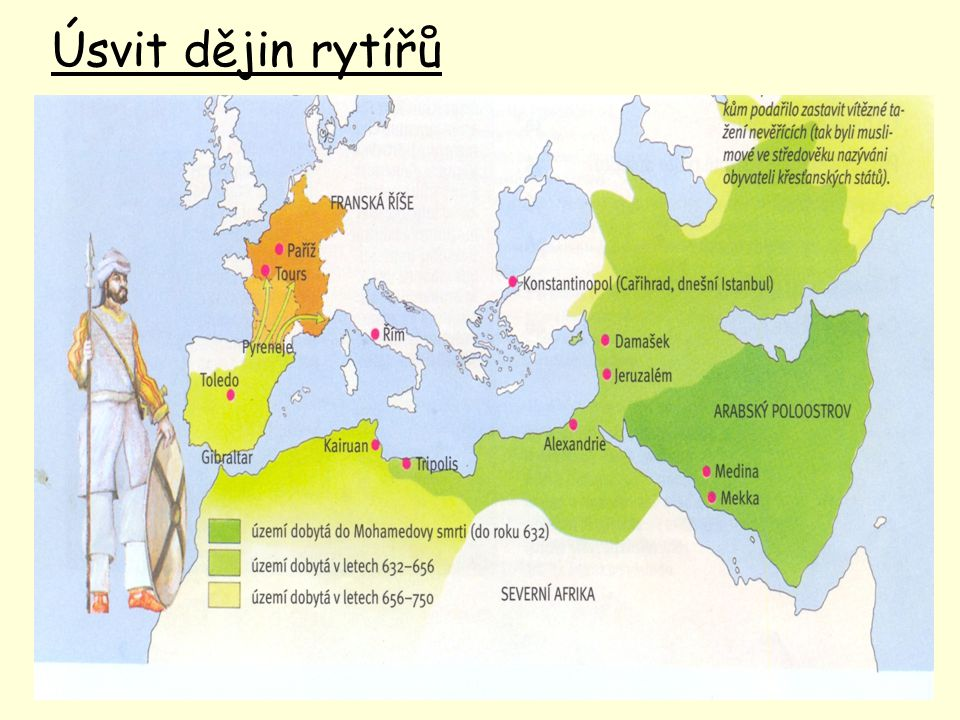 Úsvit dějin rytířů