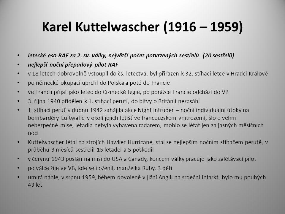 Karel Kuttelwascher (1916 – 1959)