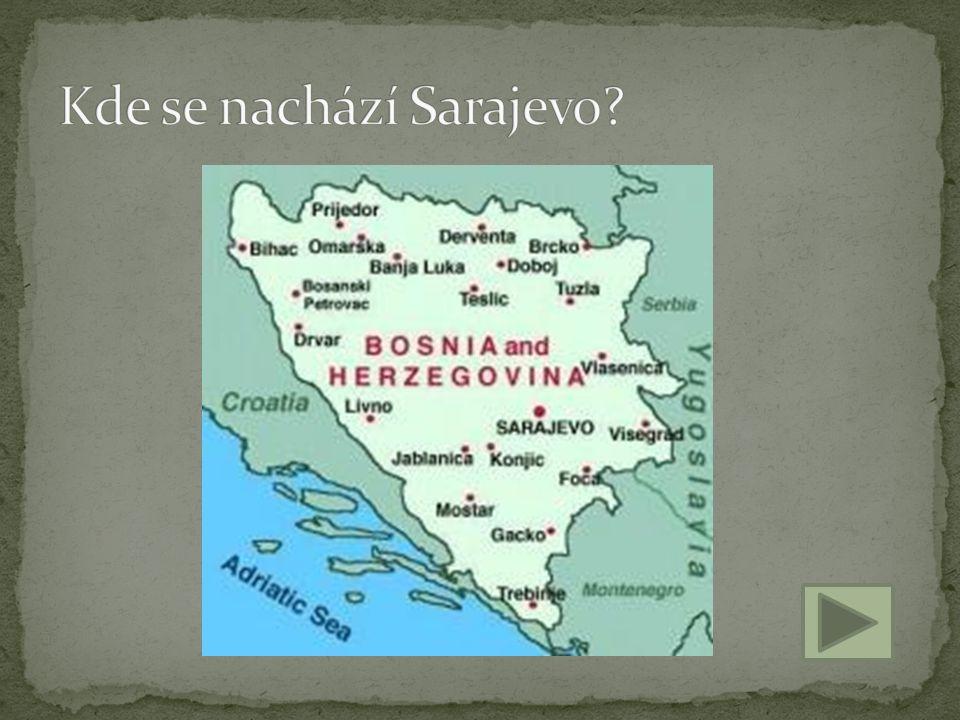 Kde se nachází Sarajevo