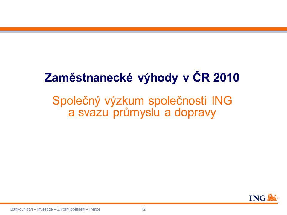 Zaměstnanecké výhody v ČR 2010
