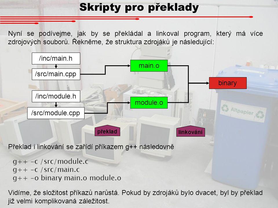 Skripty pro překlady