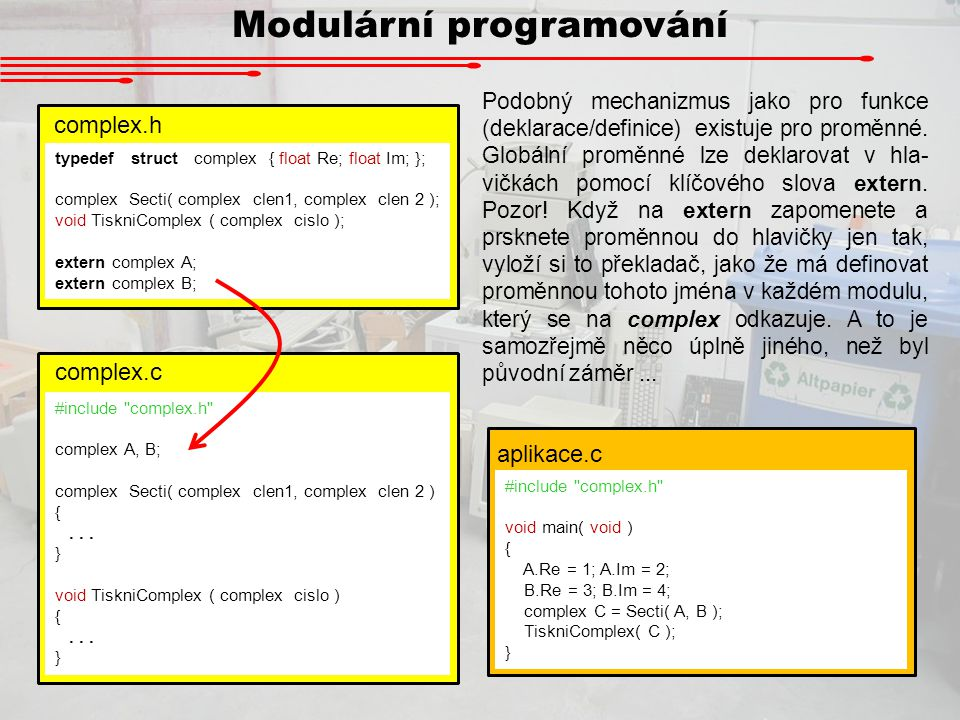 Modulární programování