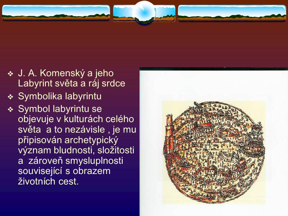 J. A. Komenský a jeho Labyrint světa a ráj srdce