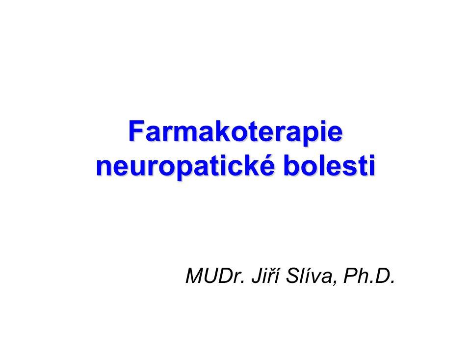 Farmakoterapie neuropatické bolesti