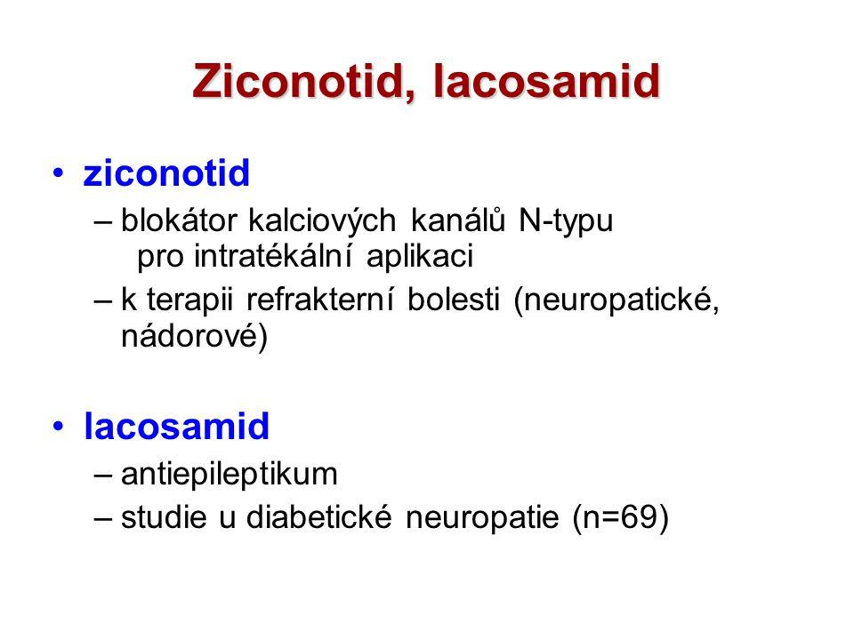 Ziconotid, lacosamid ziconotid lacosamid