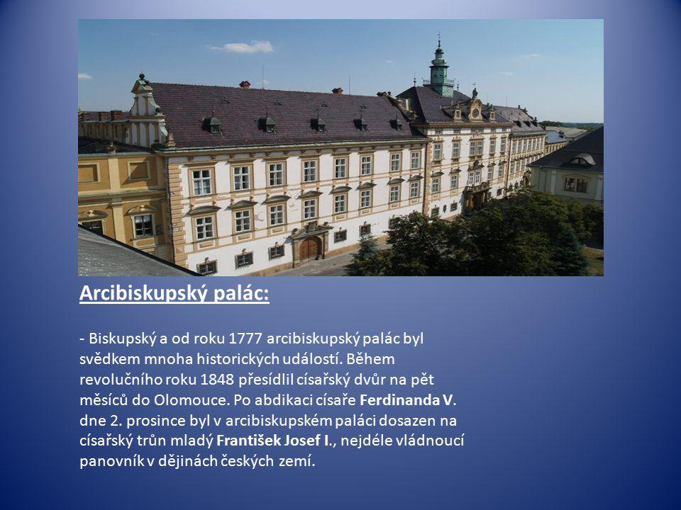 Arcibiskupský palác: