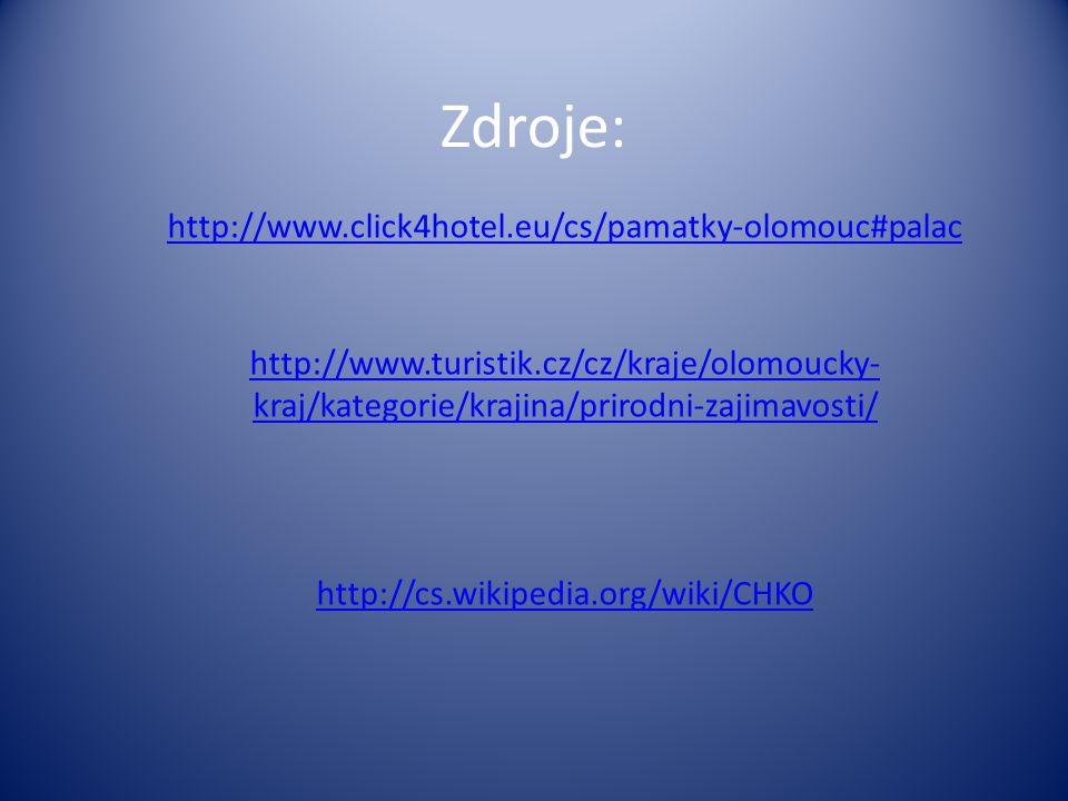 Zdroje: http://www.click4hotel.eu/cs/pamatky-olomouc#palac