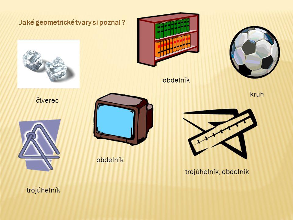 Jaké geometrické tvary si poznal