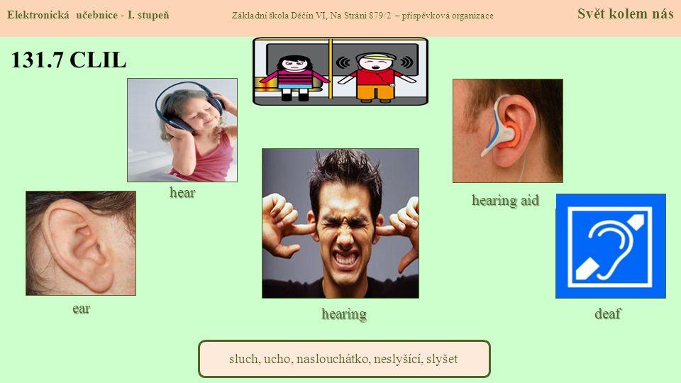 sluch, ucho, naslouchátko, neslyšící, slyšet