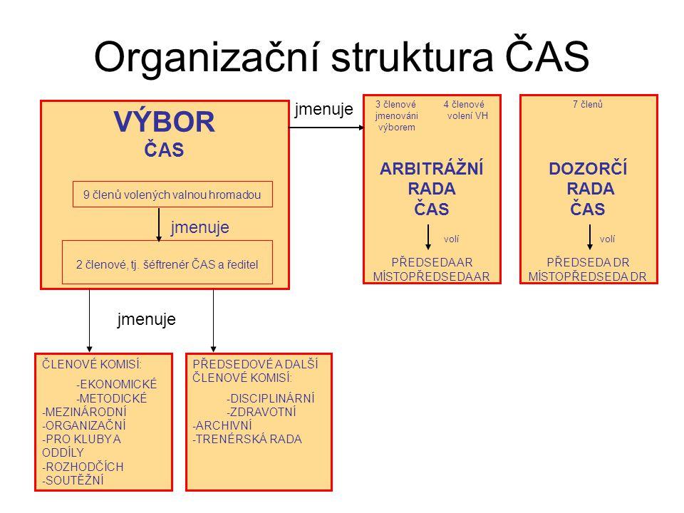 Organizační struktura ČAS