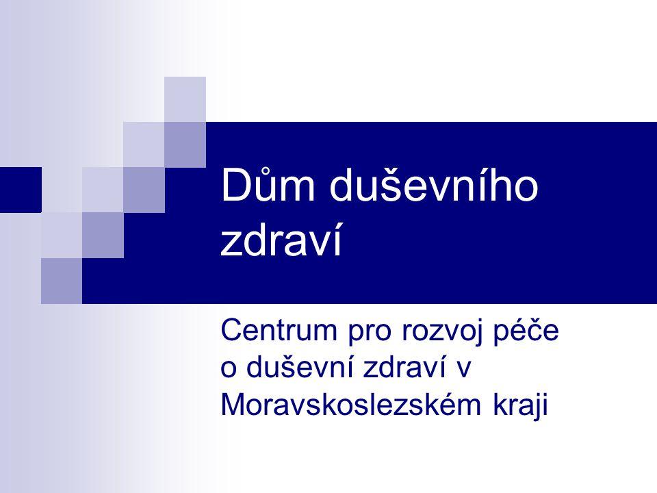 Centrum pro rozvoj péče o duševní zdraví v Moravskoslezském kraji