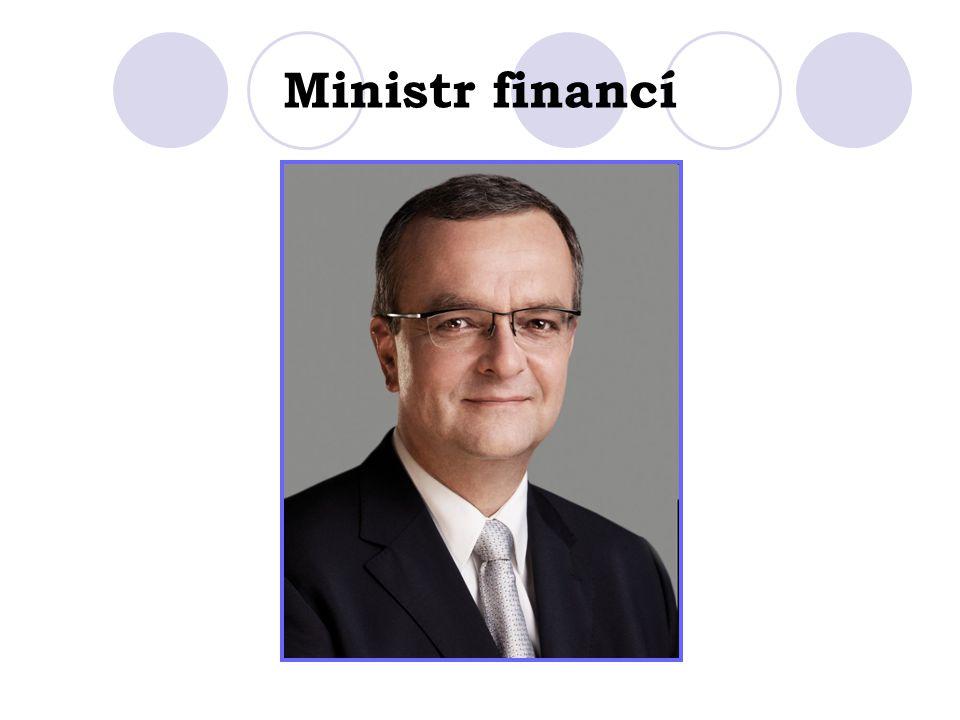 Ministr financí