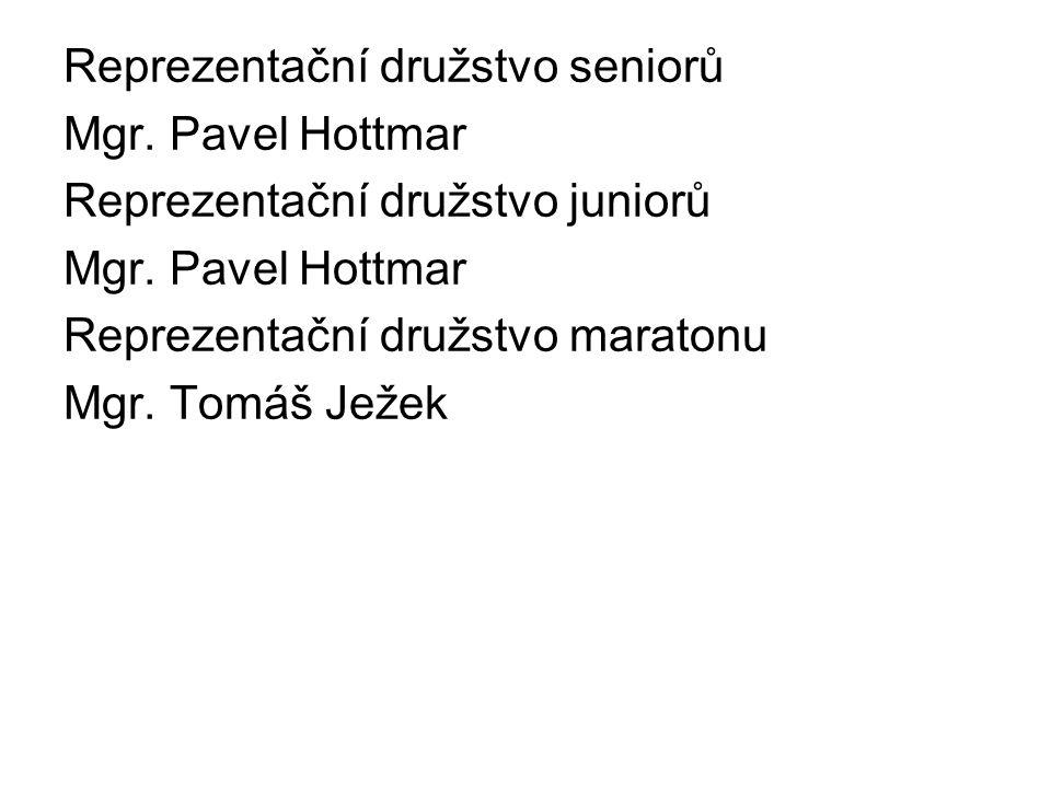 Reprezentační družstvo seniorů Mgr