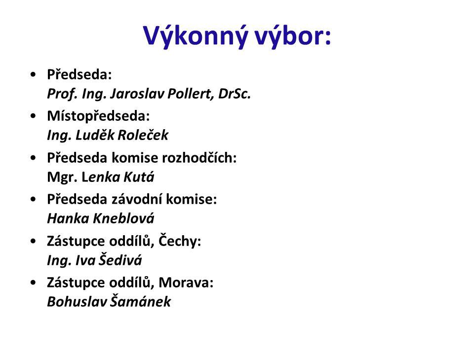 Výkonný výbor: Předseda: Prof. Ing. Jaroslav Pollert, DrSc.