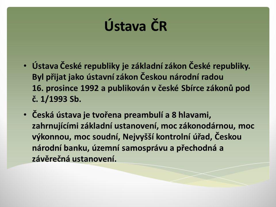 Ústava ČR