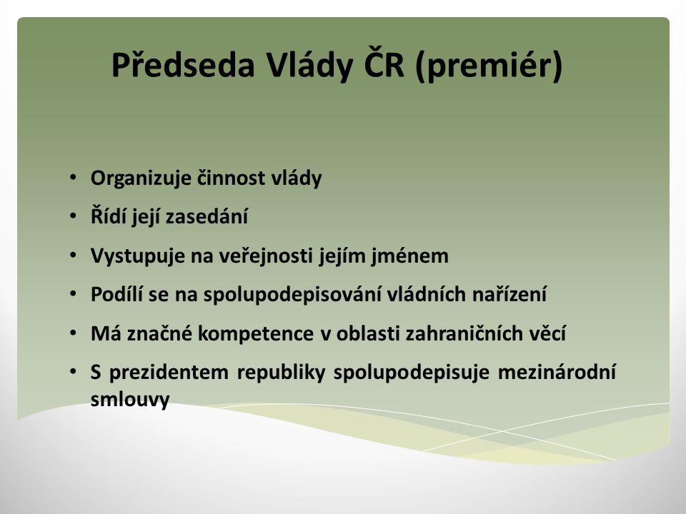 Předseda Vlády ČR (premiér)