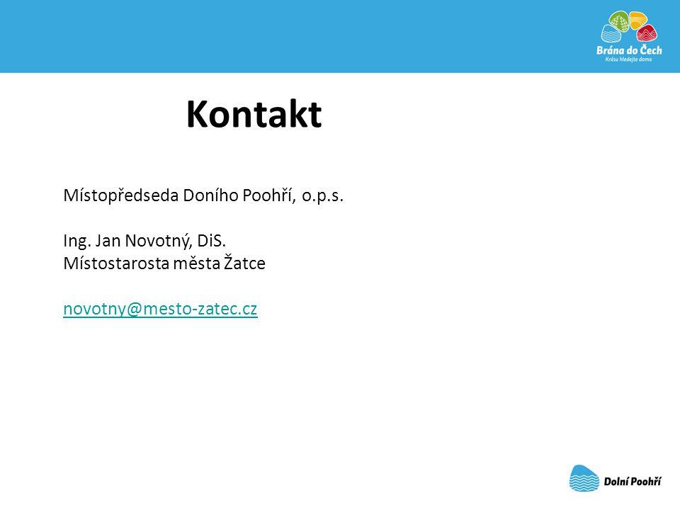 Kontakt Místopředseda Doního Poohří, o.p.s. Ing. Jan Novotný, DiS.