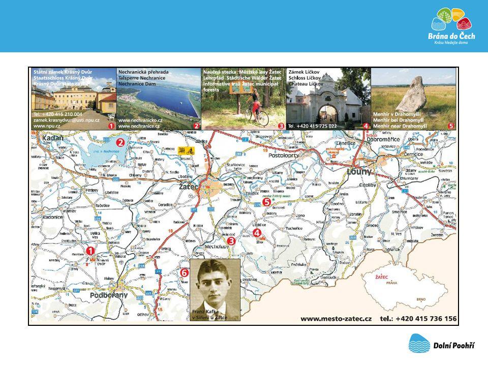 Historická města na Ohři: Žatec, Louny, Kadaň, Klášterec nad Ohří