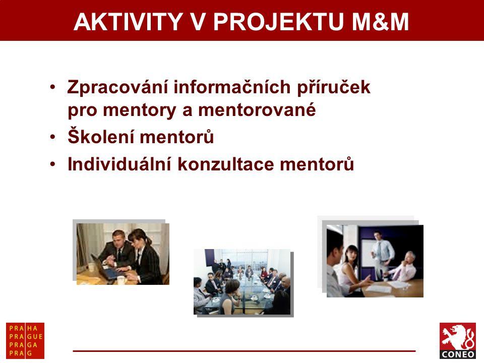 AKTIVITY V PROJEKTU M&M