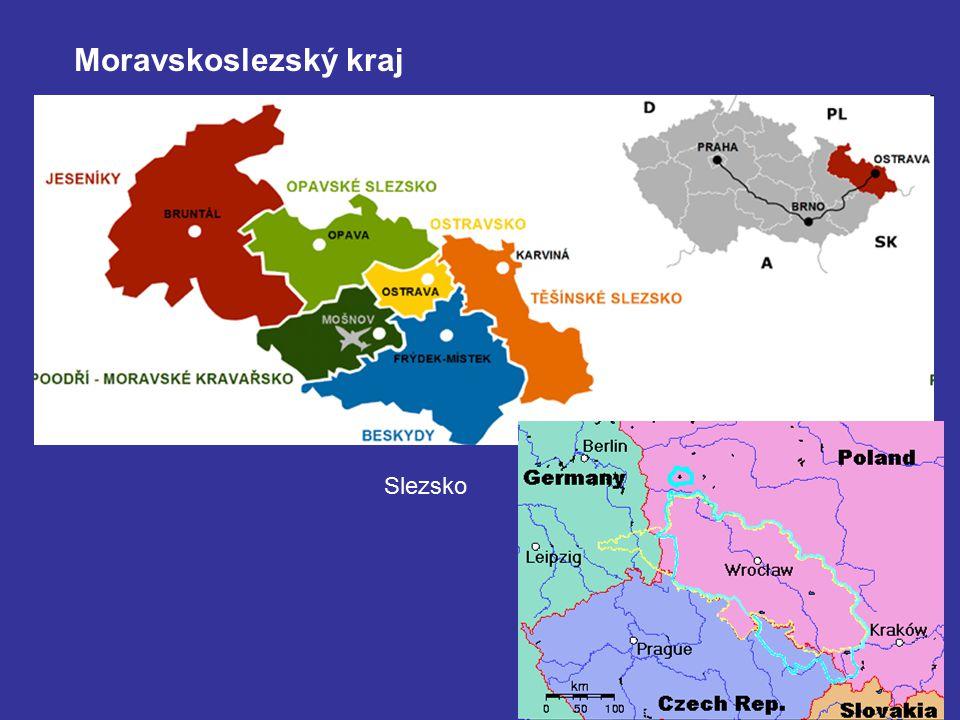 Moravskoslezský kraj Slezsko