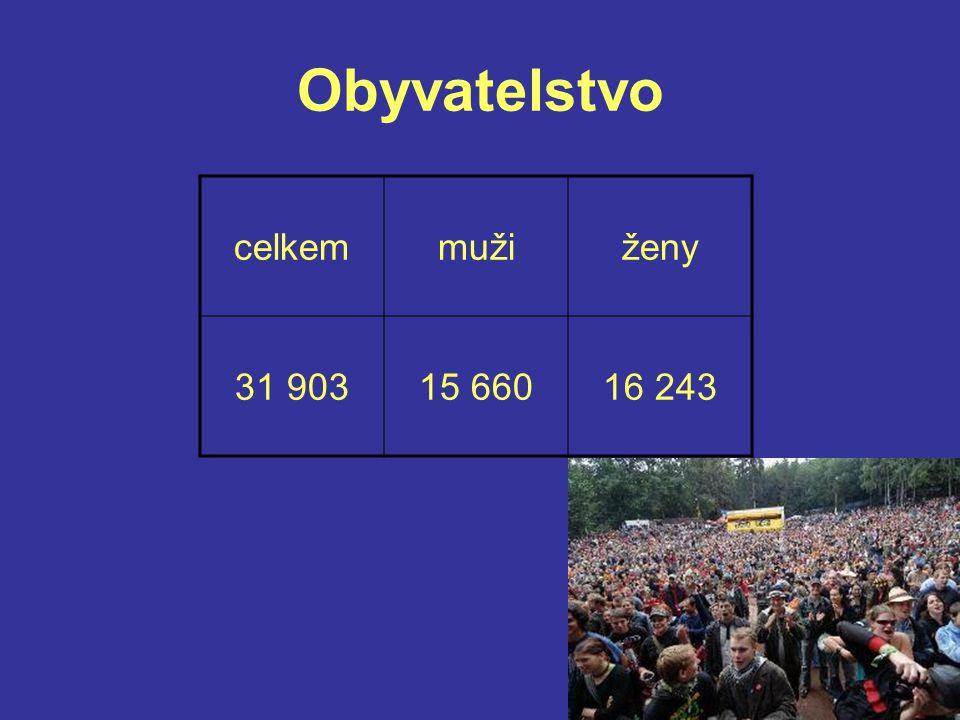 Obyvatelstvo celkem muži ženy 31 903 15 660 16 243