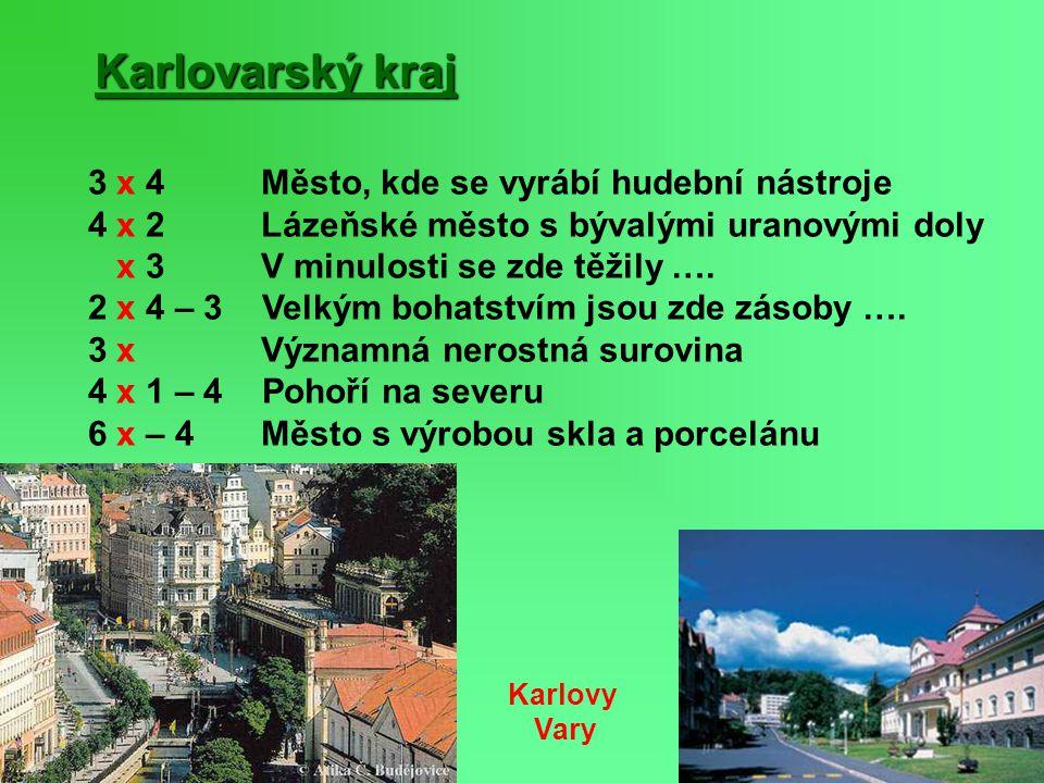 Karlovarský kraj 3 x 4 Město, kde se vyrábí hudební nástroje