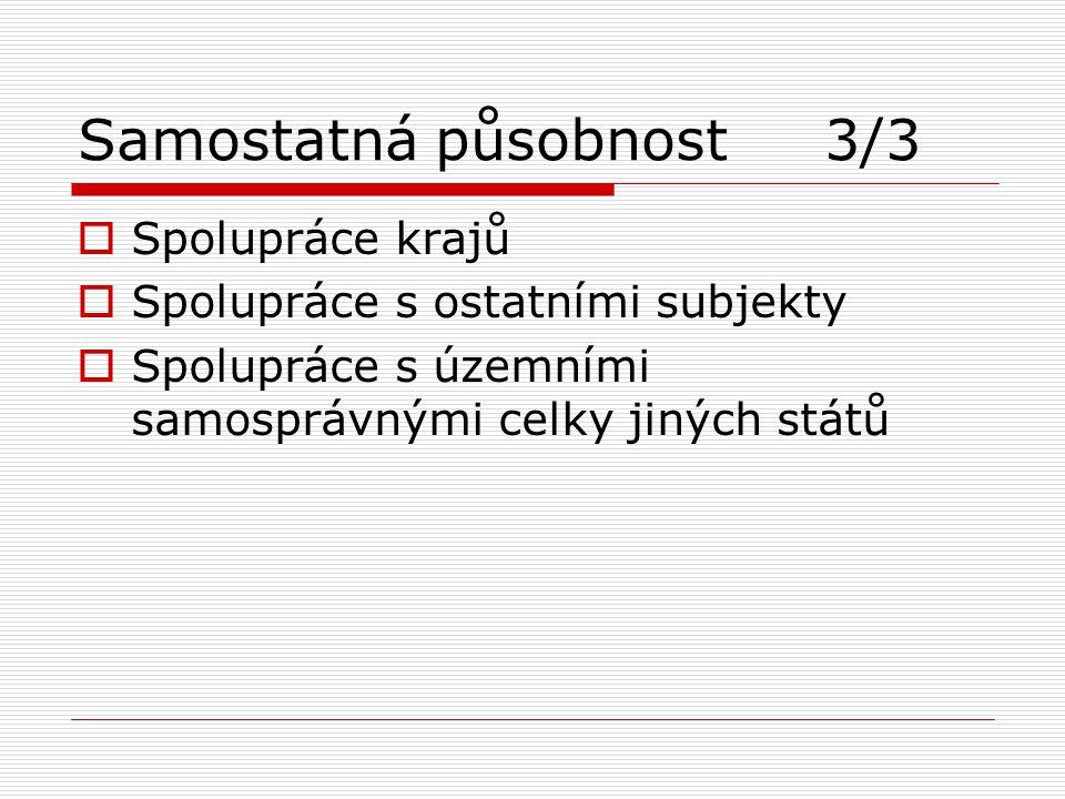 Samostatná působnost 3/3