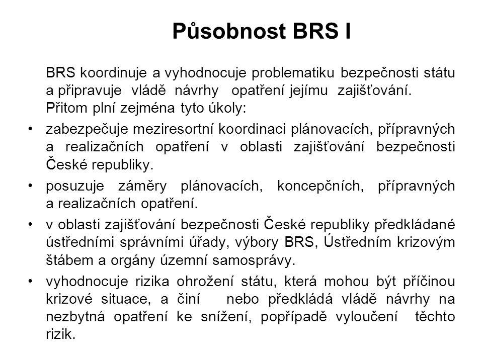 Působnost BRS I